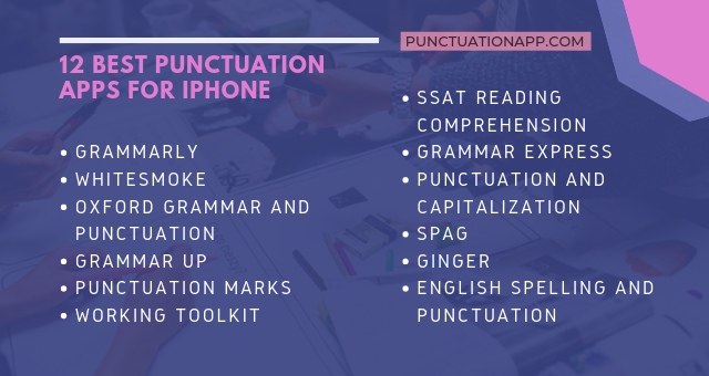 best punctuation apps for iphone